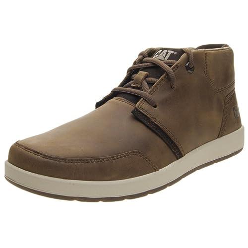 Caterpillar Cruz - Botas de Piel para Hombre marrón marrón marrón Size: 44: Amazon.es: Zapatos y complementos