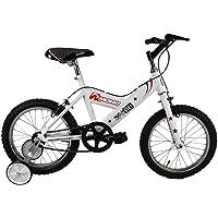 Monk Bicicleta ECONÓMICA para NIÑOS STARBIKE DE MONTAÑA RODADA 16 1 Velocidad (Blanco)
