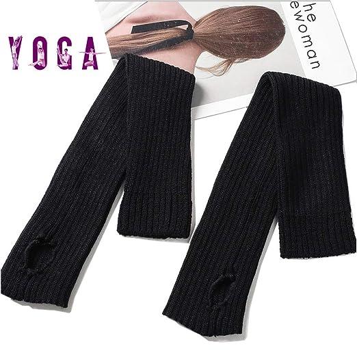 AYHa Calcetines de yoga Cubierta de la bota Cable deportivo ...