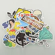 yong8 100pcs Stickers Skateboard Snowboard Vintage Vinyl Sticker Graffiti Laptop Luggage Car Bike Bicycle Decals mix Lot Fashion Cool