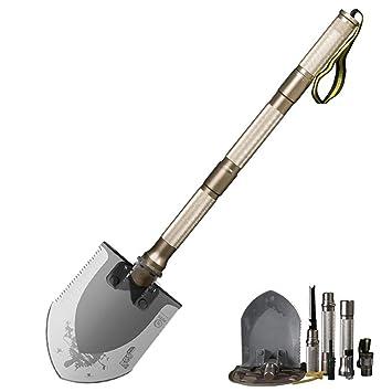 ZCJ Pala plegable militar, herramientas de excavación ...