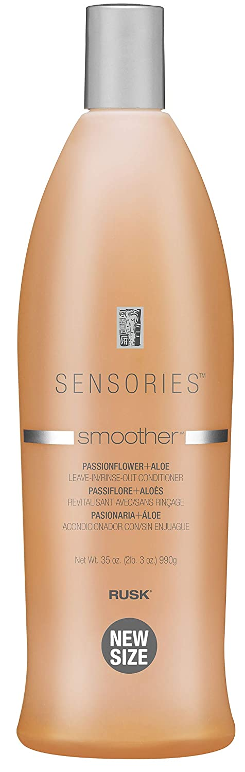 RUSK Sensories Smoother Passionflower and Aloe Smoothing Leave-In Conditioner