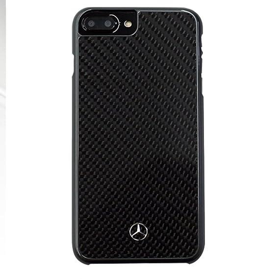 big sale 64fb6 9532b iPhone 7 Plus Case, Mercedes Benz Impact Resistant Dynamic - Real Carbon  fiber - Hard case - MEHCP7LRCABK