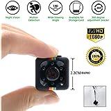 TDC - Camara Espia Mini HD 1080 - Cámara De Vigilancia Compacta Equipada Con Grabador Multifuncional De Vídeo Digital (DVR) En Micro SD - Cámara De Deporte o Webcam. Mini Spy Cam TDC