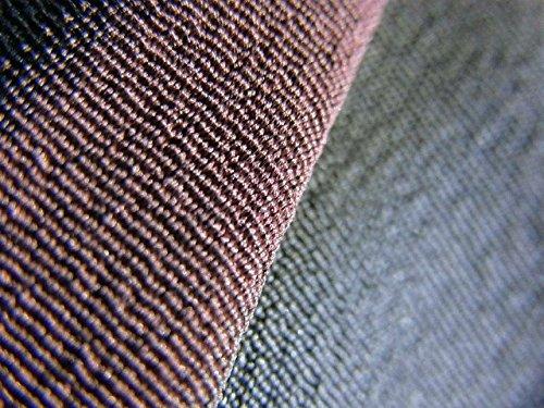 リサイクル 着物 お召 よろけ縞 正絹 袷 裄60.5cm 身丈152cm