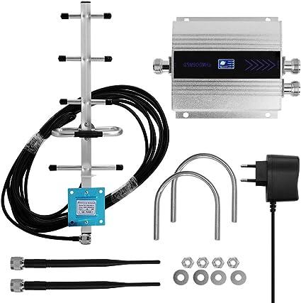 Cassa della lega amplificatore GSM 900Mhz del telefono ripetitore del segnale del ripetitore Antenna aerea 2g 3g 4g Signal
