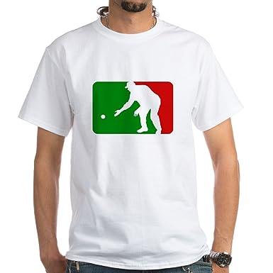 6106a88aa Amazon.com: CafePress Major League Bocce Dark Shirt T-Shirt - 100 ...