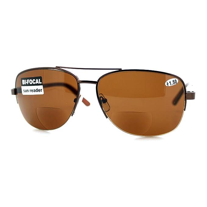 Amazon.com: Bifocal Lente de aumento hombre anteojos de sol ...