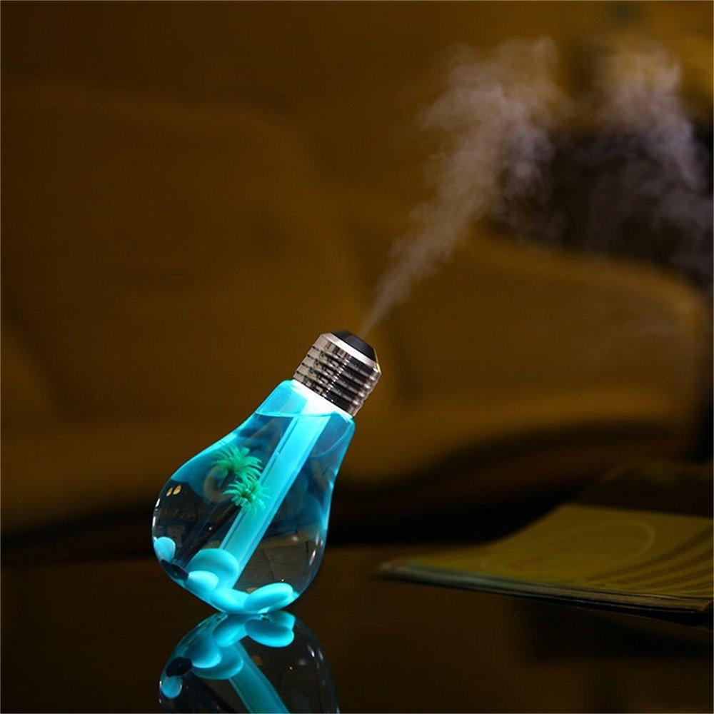 USB Mist Humidifier 5v Night Light Wall Night Light Outdoor Colorful - RGB
