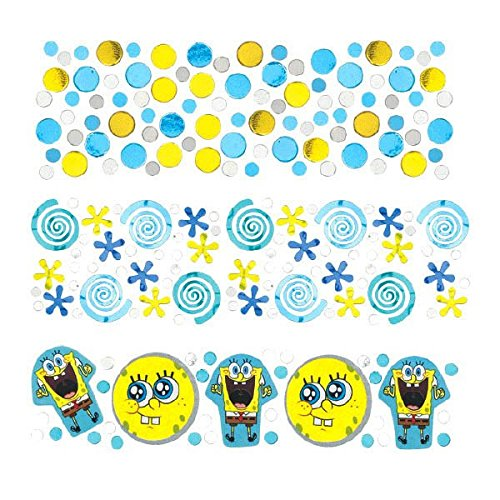 Amscan Boys Silly SpongeBob Party Confetti Mix Decoration (Pack of 1), Multicolor, 12 oz ()
