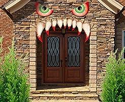 jollylife Halloween Monster Face Decorat...