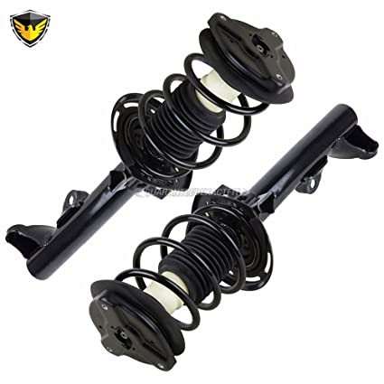 Amazon com: Pair Duralo Front Strut & Spring Assembly For
