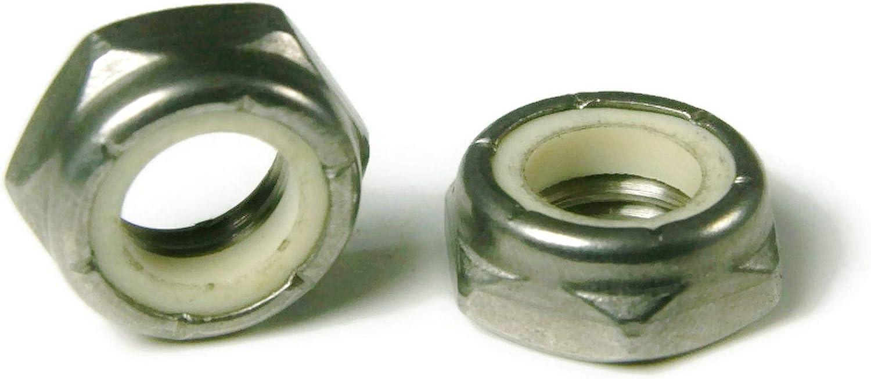 OKSLO 1//4-20 nylon hex jam nut 304 83766-33597-16798-59792 qty 1,000