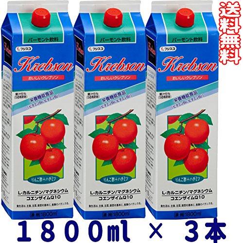 フジスコ おいしいクレブソン 3本セット 1800ml × 3本 B006QGGH6S