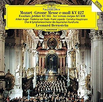 モーツァルト:大ミサ曲ハ短調、アヴェ・ヴェルム・コルプス、エクスルターテ・ユビラーテ(UHQCD)