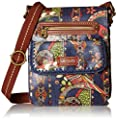 The SAK Artist Circle Small Flap Messenger Cross Body