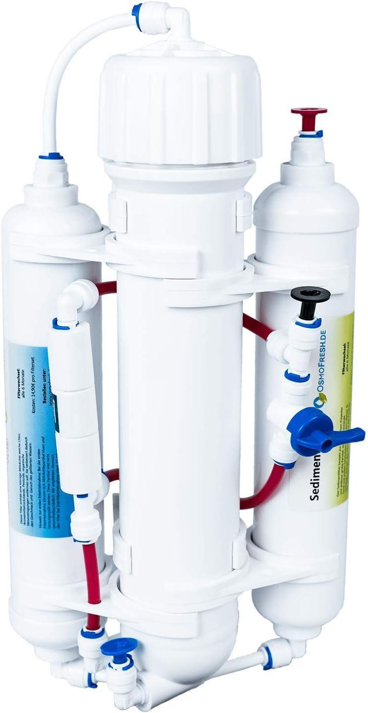 """OsmoFresh: Osmoseanlage""""Smartline Basic"""" 50 GPD bis zu 190 Liter am Tag: Amazon.de: Küche & Haushalt - Osmoseanlage Aquarium"""