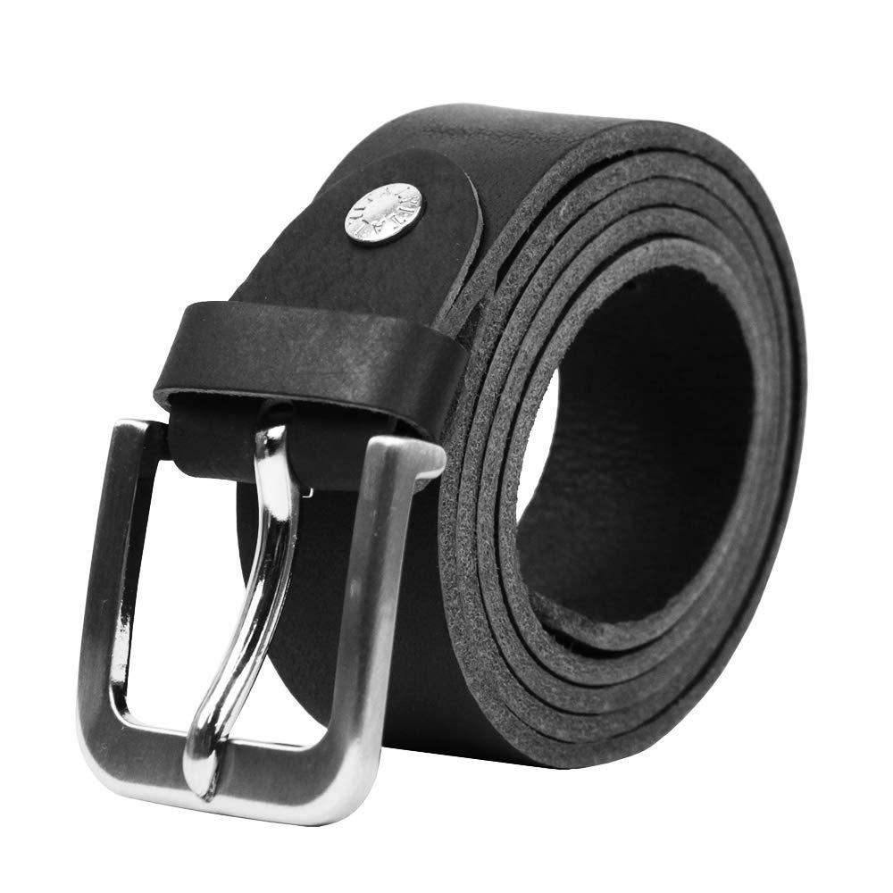 Jeansgürtel Leder Gürtel 4 cm breit BW 80-130 cm Herrengürtel Ledergürtel