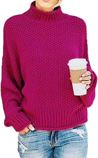 Joe Wenko Womens Loose Pullover Cold Shoulder Raglan Sleeve Top Sweatshirts