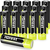 iGrest Rechargeable AA Batteries 2800mah Nimh Battery (16 Pack)
