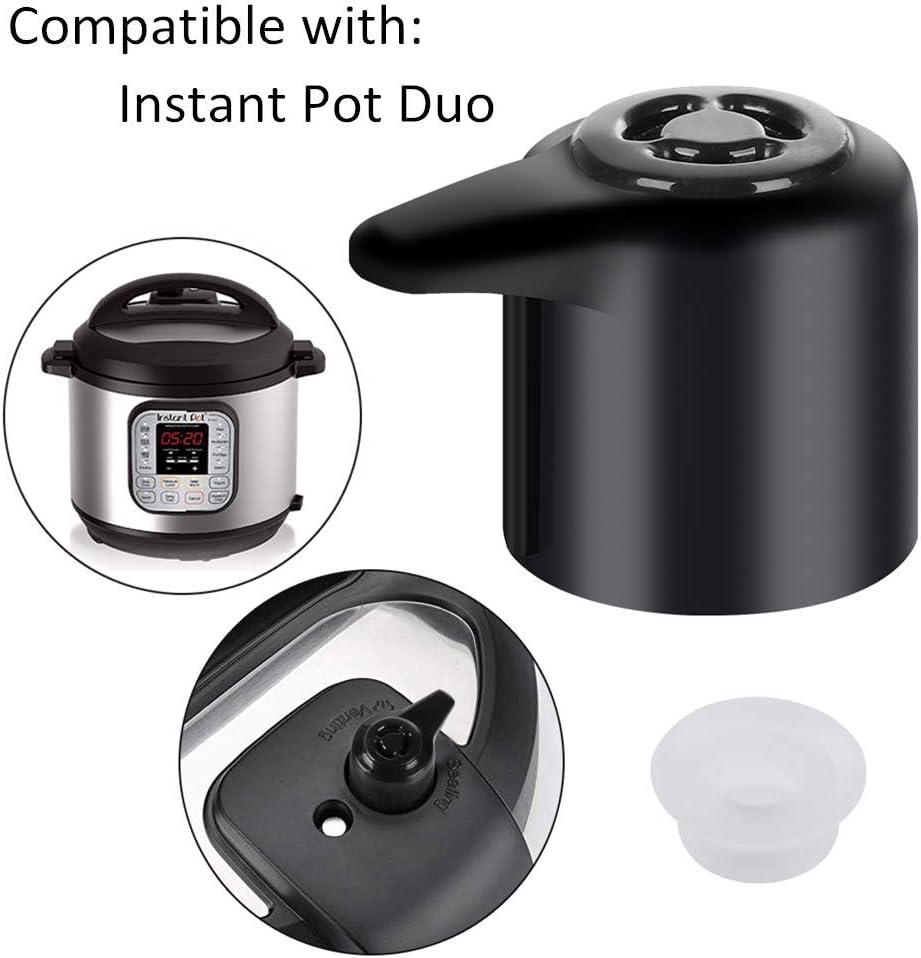 Original Steam Release Handle Steam Valve for Instant Pot Duo/Duo Plus 3, 5, 6 and 8 Quart, Mini 3 Qt, Duo50 5 Qt, Duo/Duo Plus 60 6 Qt, and Duo/Duo Plus 80 8 Qt by ZoneFly