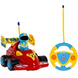 TOYEN RC Cartoon Racing Car Action Figure Radio Control Toy with Music Best Gift for Toddlers & Kids