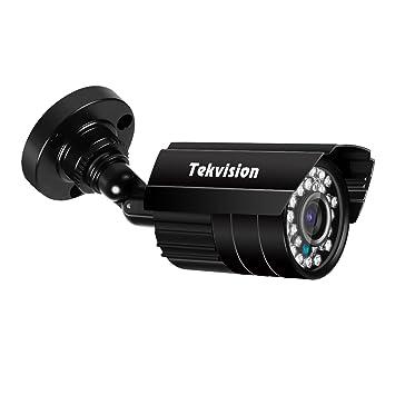 Tekvision® 720P HD IR cortó la cámara de seguridad de la bala, prueba impermeable y ...