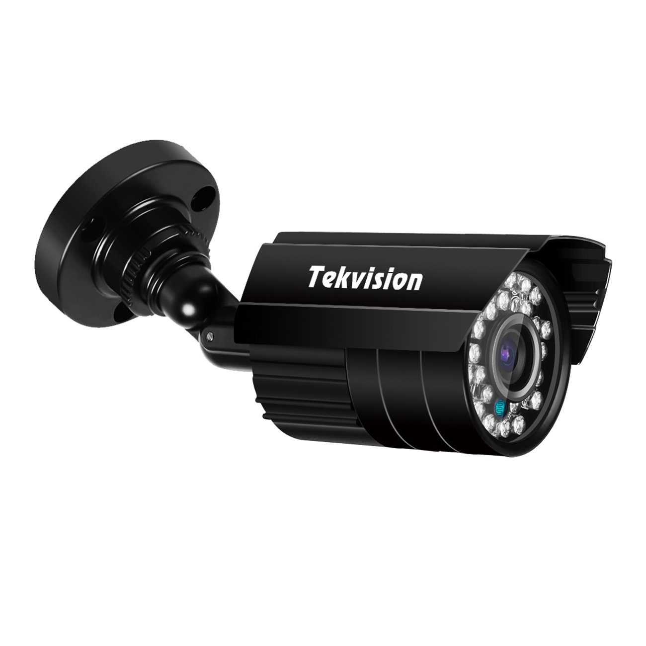 Tekvision Waterproof Outdoor camera system 1PK 720P HD IR Cut Bullet Security Camera, Vandalproof 3.6mm Lens with 24PCS IR-LEDs For AHD 720P/1080 DVR (Not Compatible With Old 960H DVR System)