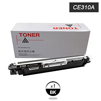 DOREE Negro Compatible HP CE310A 126A cartuchos de tóner HP Color ...