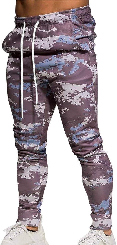 FELZ Pantalones Gimnasio Camuflaje Hombre, Pantalones ...