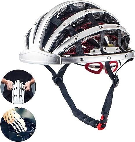 YA Portátil Plegable del Casco de Ciclista, Deporte de Aluminio de ...