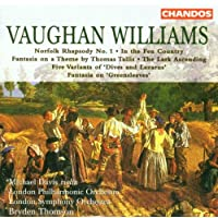"""R. Vaughan Williams: Norfolk Rhapsody / In the Fen Country / Five Variants of """"Dives and lazarus"""" / Fantasia  on Greensleeves / The Lark Ascending"""