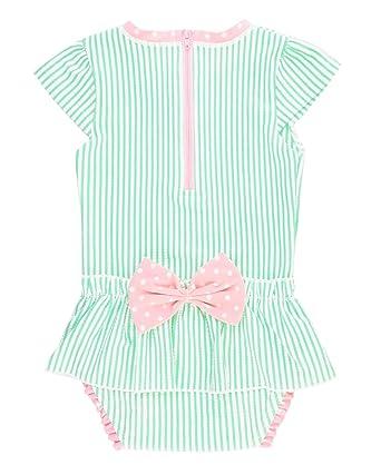 8a02b2319860 Amazon.com  RuffleButts Infant Toddler Girls Peplum Skirt One Piece ...
