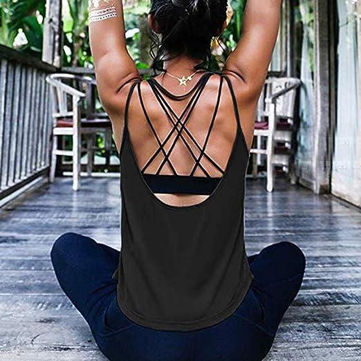 Amazon.com: SULEAR Womens Summer Peplum Tops Women Yoga ...