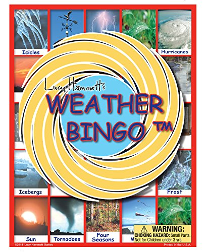 Lucy Hammett Games Weather Bingo Game