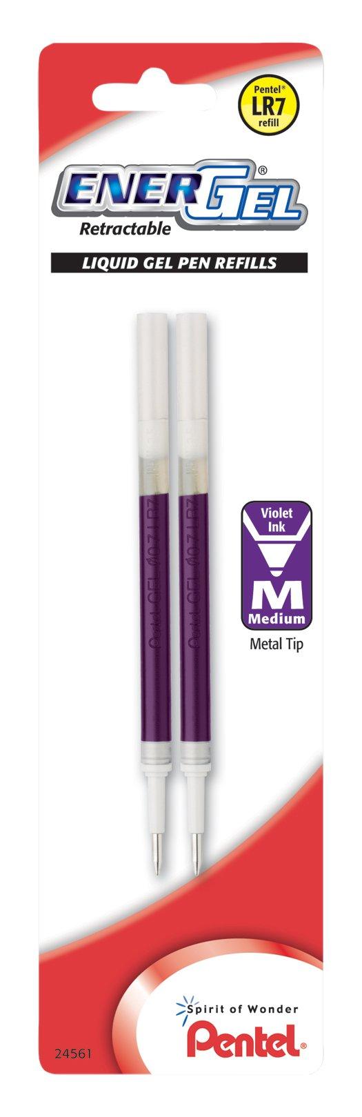 Pentel Refill Ink, for EnerGel & Lancelot Gel Pen, 0.7mm...