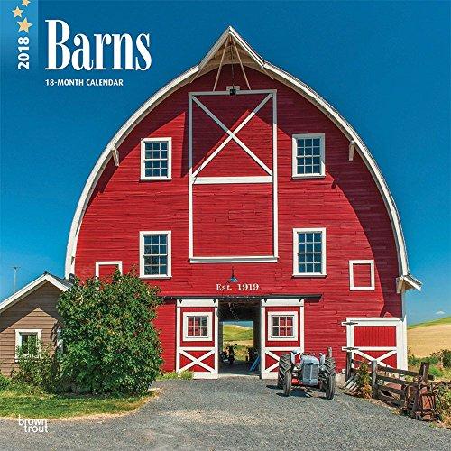 Barns 2018 Wall Calendar