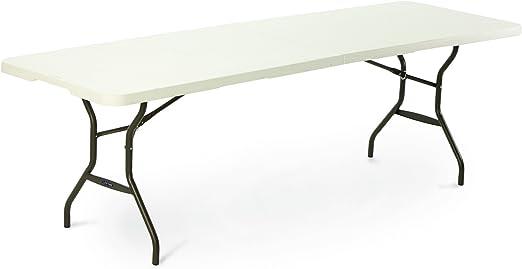 Lifetime Table Pliante Rectangulaire pour 8 à 10 Personnes ...