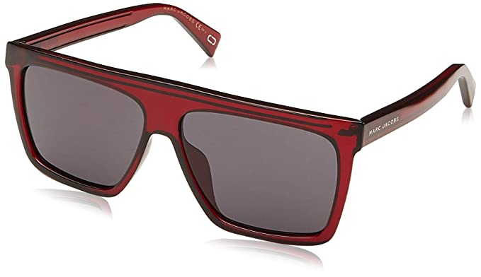 a54d3eb336aa60 Marc Jacobs - Lunettes de soleil - Homme Rouge Kristall Rot 59 ...