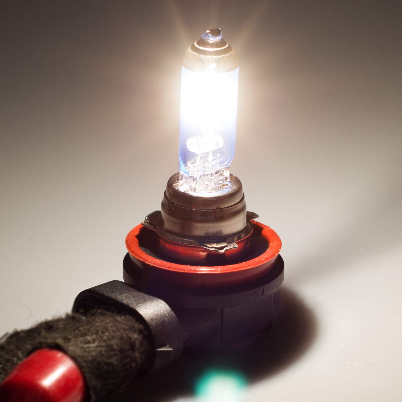 2 Pieces Win Power Hir2// 9012 Halogen Headlight Bulbs 55W 5000K Warm White Lamp 12V Auto Car Front Lamps