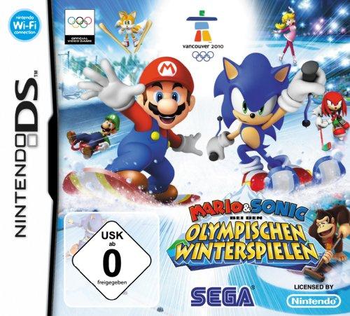 Mario Sonic Bei Den Olympischen Winterspielen Nintendo Ds Amazon