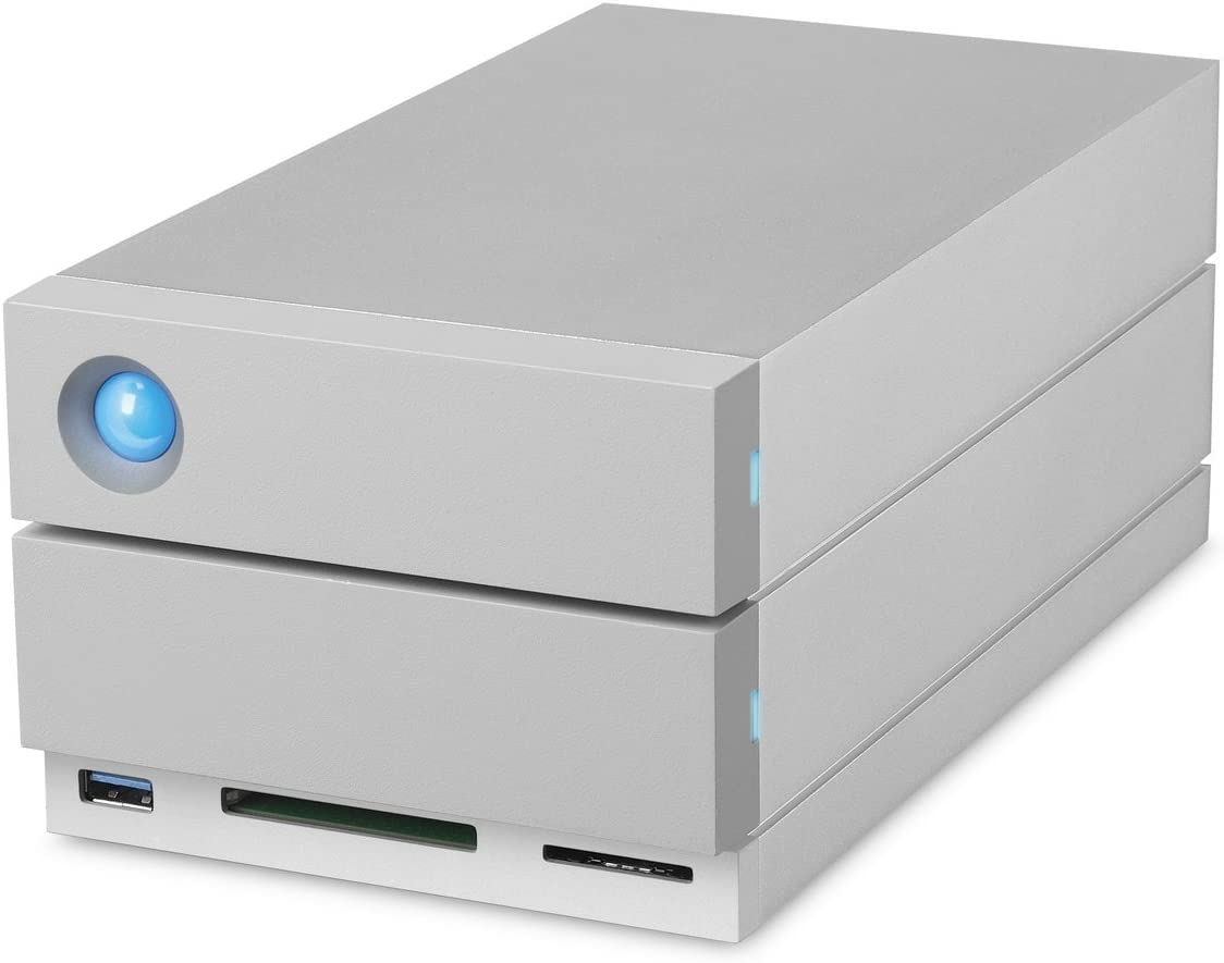 LACIE 32000GB LACIE 2BIG Dock THUNDERBOLT3 Storage Devices Hard Drives