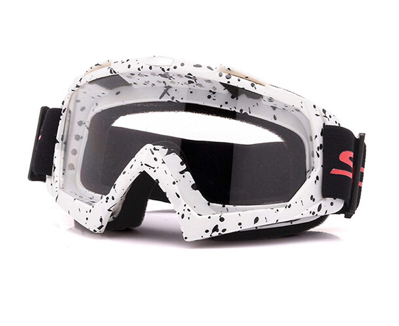 SonMo Schutzbrille Schneebrille Skibrille Nachtsichtbrille Fahrbrille Sport Sonnenbrille Radbrille TPU+PC Schnee Brille Herren Damen Blendschutz mit UV Schutz Windschutz