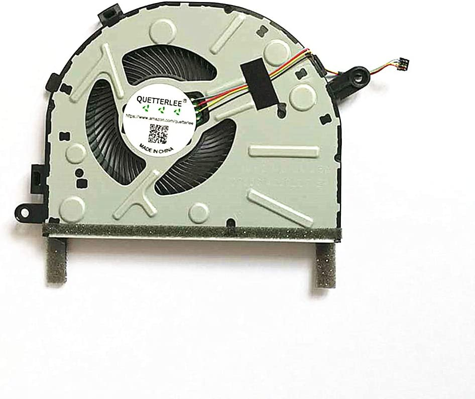 QUETTERLEE Replacement New CPU Cooling Fan for Lenovo IdeaPad 330s 330s-15ARR 330s-15IBK 330S-14IBK 7000-14IKBR Series DFS561405PLOT FKH9 DC28000DYF0 FCC2 Fan