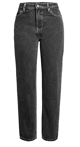 1f80f3c0b0 omniscient Women's Washed Stretch Jean Cropped Denim Pants Trousers at  Amazon Women's Jeans store