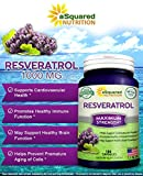 100 Pure Resveratrol - 1000mg Per Serving Max Strength 180 Capsules Antioxidant Supplement Extract Natural Trans-Resveratrol Pills for Heart Health amp Weight Loss Trans Resveratrol for Anti-Aging Discount