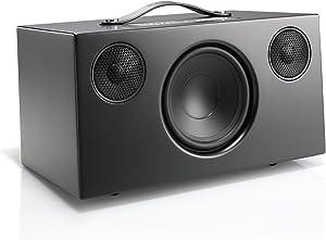 Audio Pro Addon C10 - Compact WiFi Wireless Multi-Room Speaker - High Fidelity - Compatible with Alexa - Black