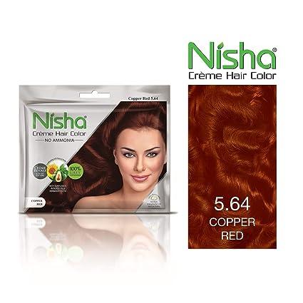 Buy Nisha Creme Hair Color With Sunflower Avocado Oil Henna