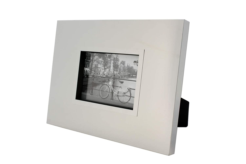 Amazon.de: Edelstahl-Bilderrahmen matt, 36 x 28 cm, für Bilder 13 x ...