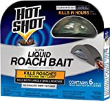 Hot Shot HG-95789 Roach Killer, Case Pack of 1, Brown/A